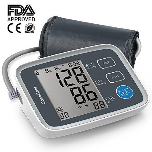 Blutdruckmessgerät-CocoBear Blutdruckmessgerät Oberarm Automatische Blutdruck mit...