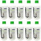 10er Pack DeLonghi Entkalker EcoDecalk für Kaffevollautomaten DLSC500 / 8004399329492 - 500ml