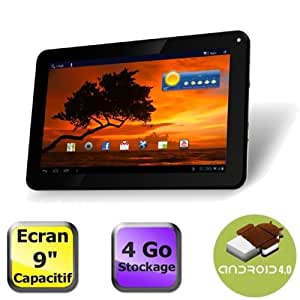 Tablette PC Tactile capacitif Artview 9 pouces, Android 4, 4Go, Wi fi + 1 Stylet Cadeau