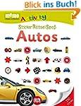 memo Activity. Autos: StickerRätselSpaß