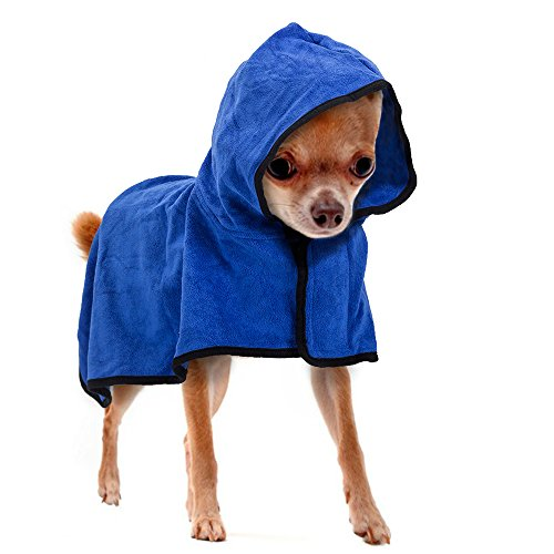 Accappatoio per animali da compagnia, asciugamano da bagno per asciugamani veloci, asciugamani rapidi per cane e gatto