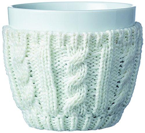 Viva Scandinavia 9101165 Tasse Cosy, Porcelaine, Blanc, 10,5 x 10,5 x 9,5 cm