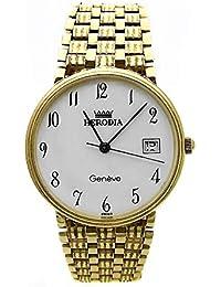 Reloj Herodia oro 18k hombre panter rayado 6412-1 [AB3894] - Modelo: