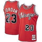 Camisetas de baloncesto personalizadas Michael Chicago NO.23 Bulls Jordan Mitchell & Ness 1984-85 Hardwood Classics Rookie Je