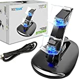 YCCTEAM® Dual USB Charging Charger Docking Station Stand for Playstation 4 PS4 Controller
