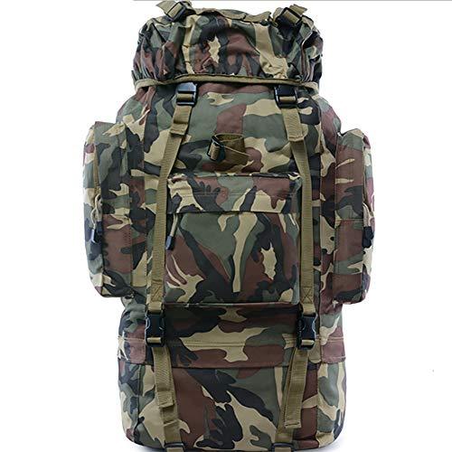 H.l tactical zaini militare outdoor zaino 65l scuola zaino tattico espandibile borsa da viaggio impermeabile grande sistema per viaggi scuola lavoro campeggio