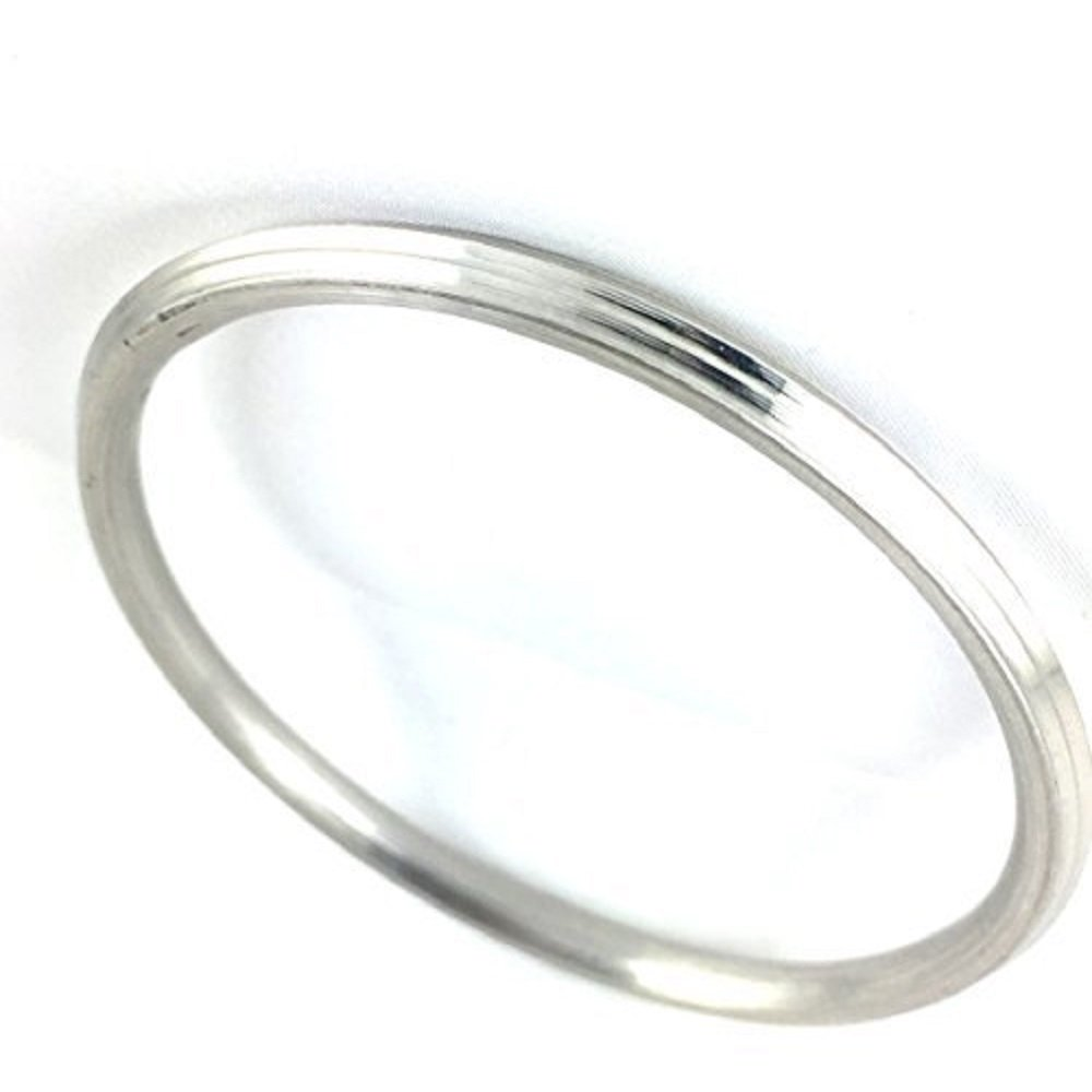 Punjabi/Sikh Stainless Steel Kada/Kara for Men/Women Internal Diameter 6.9 CM – 1 CM Thick