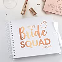 Bride Squad / Hen Do / bachelorette / Party Personalised Scrapbook / Photo Album
