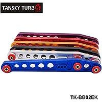 Racing posteriore inferiore controllo braccia per 96–00Civic (Ek Chassis) colore predefinito è rosso tk-bb02ek