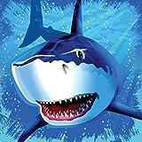 Reegen & Reegen Haifisch - Servietten 33x33 cm