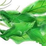 Alcyoneus Artificial Plastic Green Grass Fish Tank Ornament Water Plant Aquarium Decor 12