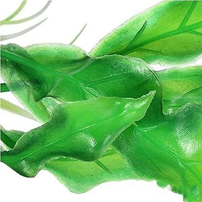 Alcyoneus Artificial Plastic Green Grass Fish Tank Ornament Water Plant Aquarium Decor 6