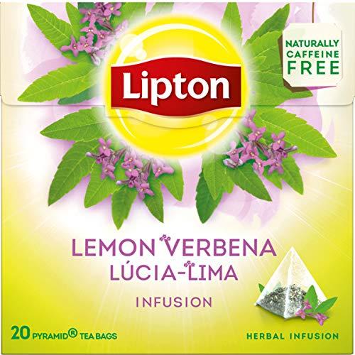 LIPTON - Zitronenverbene Tee - 6 x 20 Pyramidbeutel (gesamt:120 st)