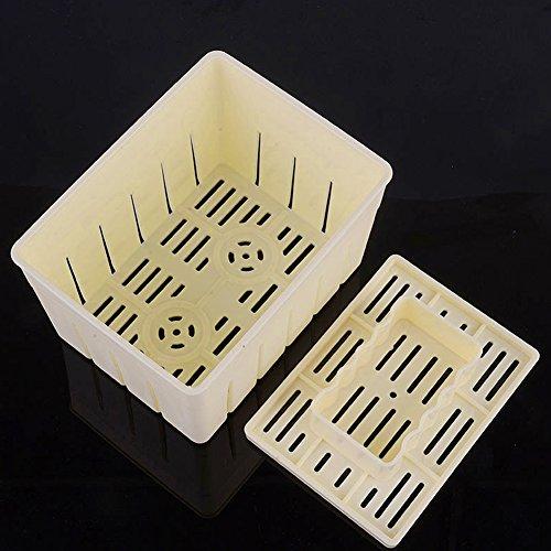 Soldmore7 Tofu Maker, Stampo a pressa per Tofu in Polipropilene, per Creare Ricci di soia, Kit Fai da Te, Stampo da Cucina