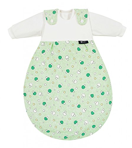 Preisvergleich Produktbild Alvi 713-3 Baby-Mäxchen 3tlg. Glückspilz grün Das Original, Größe:74/80
