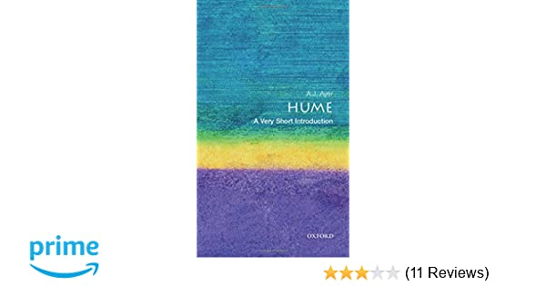 Hume A Very Short Introduction Introductions Amazoncouk Alfred Ayer 9780192854063 Books