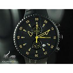 MOMO Design MD2198BK-03BKYW-RB - Reloj