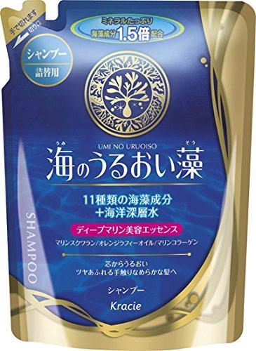 Kracie(Kanebo Home Products) Umi no Uruoiso Seaweed moisturizing shampoo Refill
