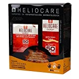 HELIOCARE 50+ FPS COLOR LIGHT GEL-CREMA 50 ML + COMPACT OIL FREE 10G