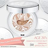 Best Age Defying Crèmes - 20 ans de maquillage Compact Foundation, Essence Cover Review