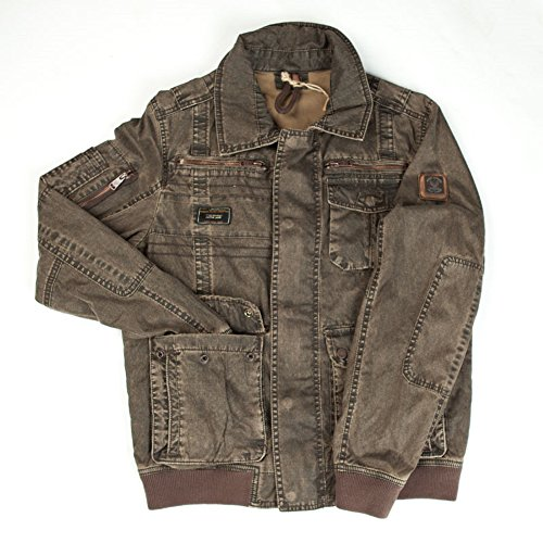 Preisvergleich Produktbild Nagano Herren Jacke Parka Farbe brown Modell Haruko Größe M