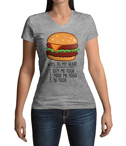 ways-to-my-heart-with-a-burger-graphic-femme-v-neck-t-shirt-xxl