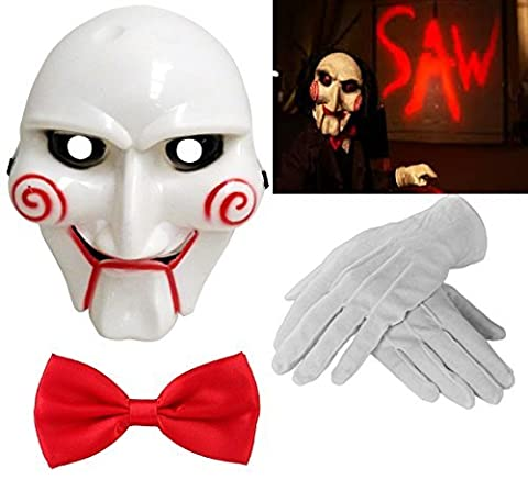 Saw Billy Costume - Adult Unisex Halloween Billy The Puppet Saw