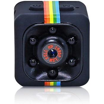 Surveillance Camera Teepao 1080P Mini Cam Camera, HD Nanny Web Cam Con Visione Notturna, Immagini HD, Rilevazione A Raggi Infrarossi E Rilevazione Di Movimento Per casa / ufficio