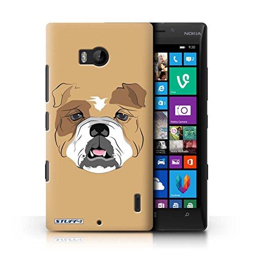 Kobalt® Imprimé Etui / Coque pour Nokia Lumia 930 / Cheval conception / Série Museaux Chien/Bulldog