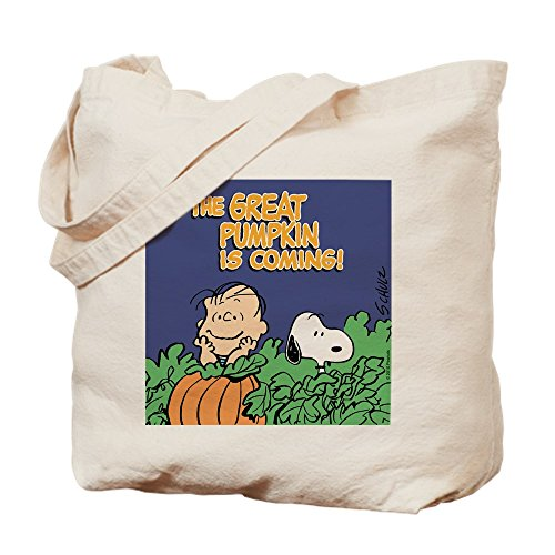 CafePress Tote Bag - Peanuts Snoopy Great Pumpkin Trick or Treat Bag by CafePress