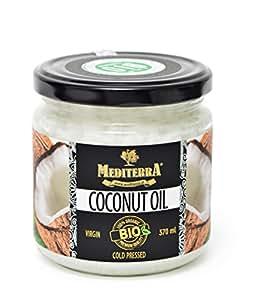 Kokosöl, Bio- Zertifiziert, Kalt gepresst, Bio Kokosföl rein nativ