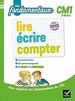 lire, écrire, compter CM1 de Sylvie Cote
