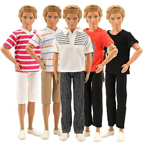 1dbfd0045ac Miunana 3 Traje de Ropa Camisas y Pantalones Hecha a Mano Casual con  Deportivo Verano Fashion