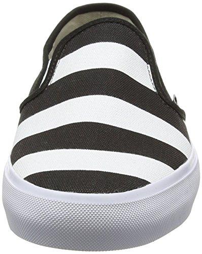 Vans Slip-On Sf, Baskets Basses Homme Noir (Stripes/Black)