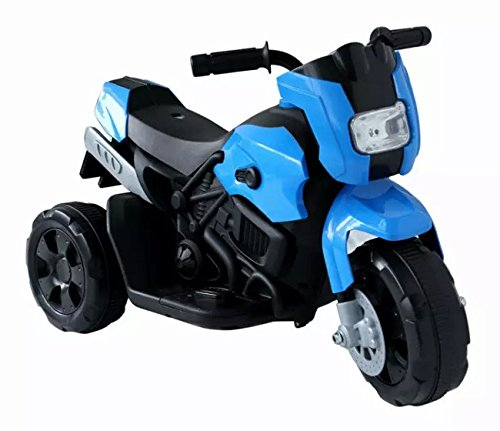 Kinderfahrzeug- Elektro Kindermotorrad – Dreirad – 3 Farben zur Auswahl (Blau)