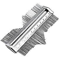 Calibre de calibre de perfil, calibre de medición de perfil, calibre de medición de carpintero, 125 mm