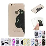 V-Ted Coque Apple iPhone 6S Plus 6 Plus Chat Silicone Ultra Fine Mince Bumper Housse...