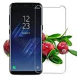 Pellicola salvaschermo Youji® 2 PCS per Samsung Galaxy S8, pellicola in vetro temperato Premium HD Clear 9H con rivestimento oleofobica per Samsung Galaxy S8