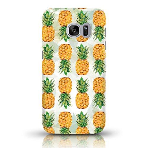 """JUNIWORDS Handyhüllen Slim Case für Samsung Galaxy S7 - Motiv wählbar - """"Anker Design 1 Dunkelblau"""" - Handyhülle, Handycase, Handyschale, Schutzhülle für Ihr Smartphone Ananas Design 1"""