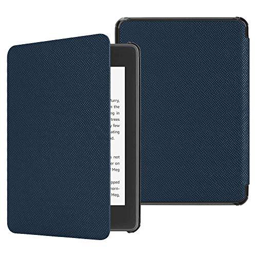 Fintie Hülle für Kindle Paperwhite (10. Generation - 2018) - Die dünnste und leichteste Schutzhülle Tasche mit Auto Sleep/Wake Funktion für Amazon Kindle Paperwhite eReader, Marineblau