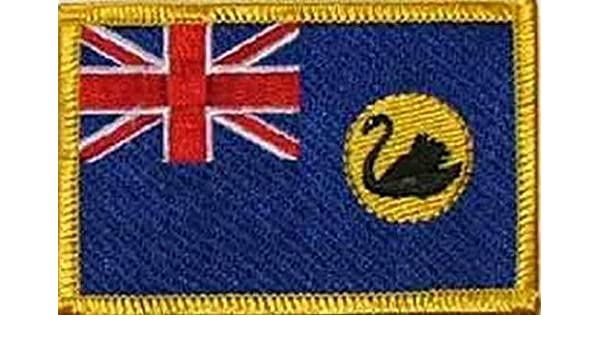 U24/ /Écusson Australie Occidentale thermocollant patch