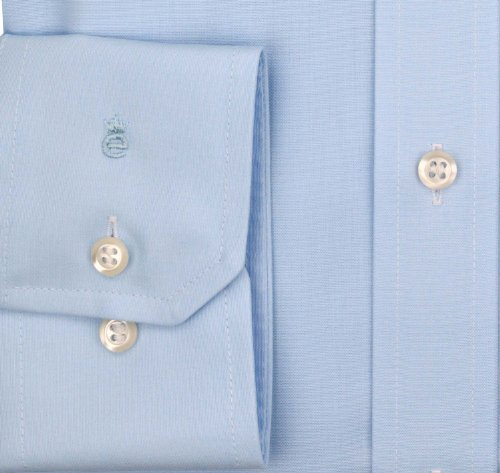 eterna -  Camicia classiche  - Basic - Classico  - Maniche lunghe  - Uomo Blu chiaro