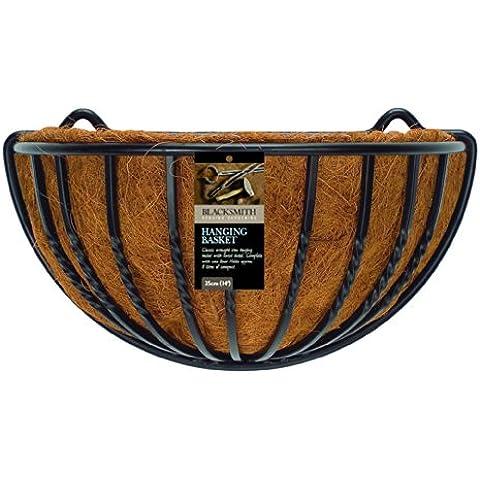 Blacksmith 01420 - Macetero colgante  (40 cm)