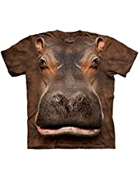 The Mountain Unisexe Enfant Téte D'Hippopotame T Shirt