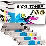 labt de toner compatible OKI C310DN/C330DN/C331DN/C510DN/C511DN/C530DN/C531DN/MC351DN/MC352DN/MC361DN/MC362DN/MC561DN/MC562DN/MC562dnw | Lot de 5| 2x noir, bleu, rouge, jaune