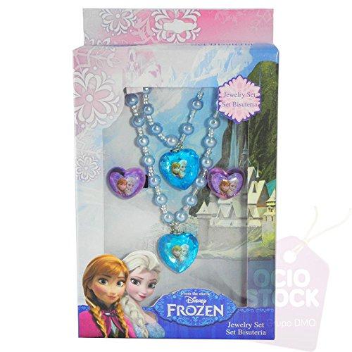 Disney - Set Frozen Collana Bracciale E Anelli