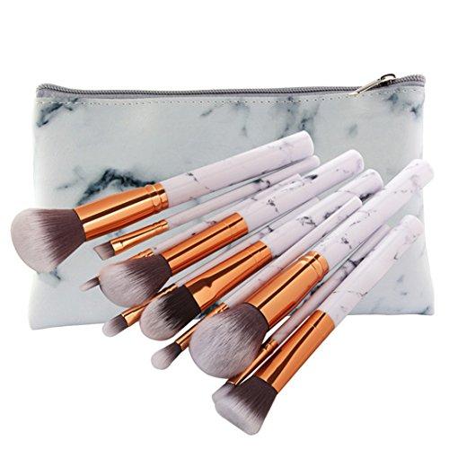 5/10 Pcs Make-up Pinsel Set Marmorierung Griff Foundation Powder Brush Eye Shadow Augenbrauen Beauty Make Up Pinsel Comestic Tools MAG5428 SB