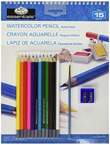 Royal & Langnickel Watercolour Pencils Pad Pack
