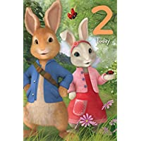 "Peter Rabbit PE012""2nd"" Birthday Card"