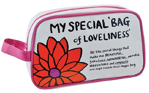 Festivities Trousse de toilette et maquillage Motif My Special Bag of Loveliness